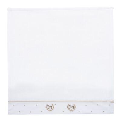 Imagem 2 do produto Kit Amamentação: 1 paninho de ombro + 1 paninho de boca em fralda Cavalinho - Roana