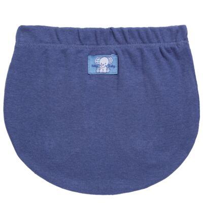 Imagem 5 do produto Pack Elefantinho: 02 Cobre Fraldas para bebe em high comfort - Vicky Baby - 1022-713 ELEF AZUL PK 2 COBRE BEBE SUED HIGH -GG