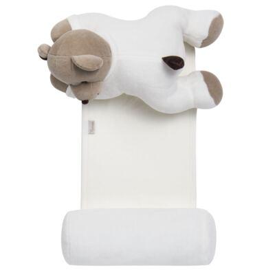 Imagem 1 do produto Segura nenê Toy em suedine Ursinho - Anjos Baby