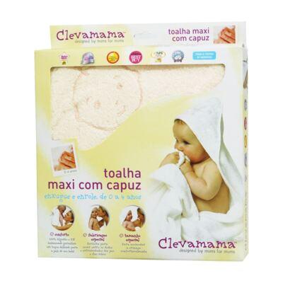 Imagem 2 do produto Kit: 2 Toalhas Max Splash & Wrap Creme e Azul - Clevamama