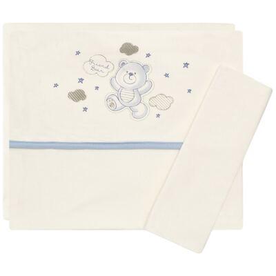 Imagem 1 do produto Jogo de lençol para berço em malha Ursinho - Classic for Baby