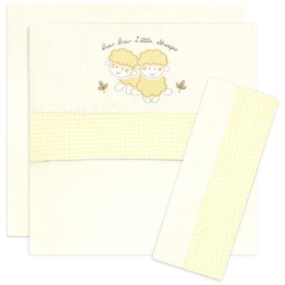 Imagem 1 do produto Jogo de lençol para berço em malha Ovelhinha - Classic for Baby