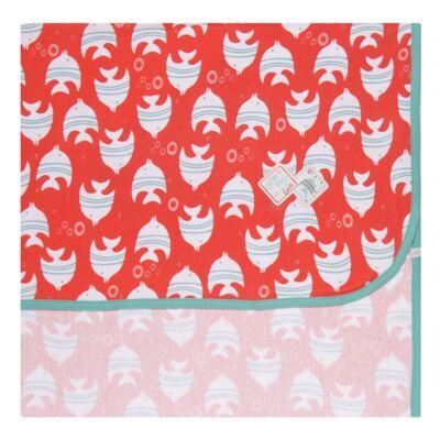 Imagem 1 do produto Manta para bebe em high comfort Cute Fish - Vicky Lipe