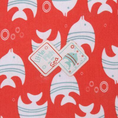 Imagem 2 do produto Manta para bebe em high comfort Cute Fish - Vicky Lipe