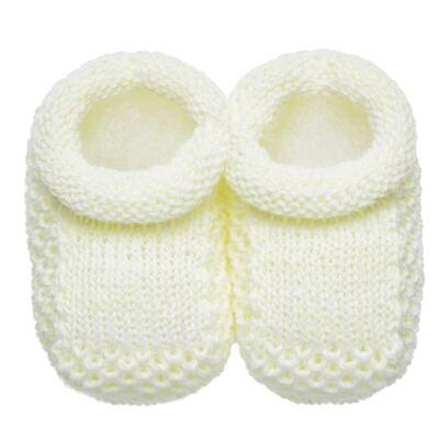 Imagem 1 do produto Sapatinho para bebe em tricot Amarelo - Roana