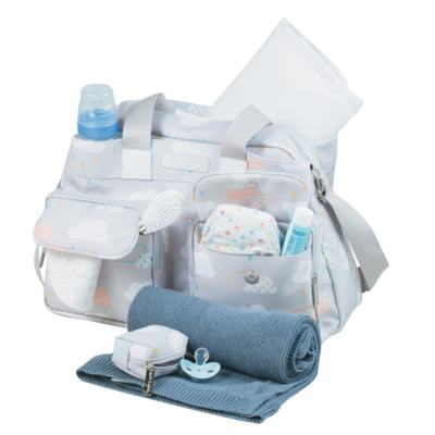 Imagem 3 do produto Bolsa para bebe Toulouse + Bolsa térmica organizadora Nuvem - Masterbag