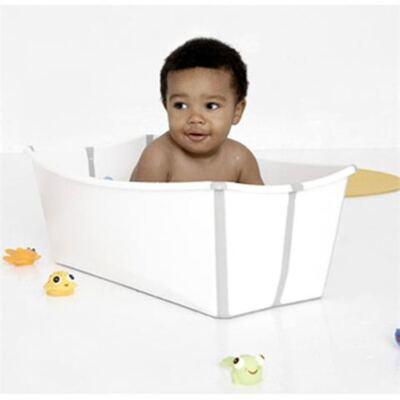 Imagem 5 do produto Banheira Stokke Dobrável Branca - FlexiBath