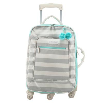 Imagem 1 do produto Mala Maternidade com rodízio Candy Colors Menta - Masterbag