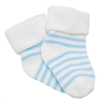 Imagem 1 do produto Meia para bebe atoalhada Azul - Panda Care