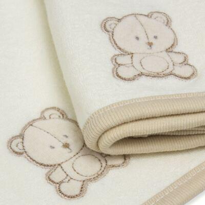 Imagem 3 do produto Kit com 2 fraldas de boca para bebe atoalhadas Nature Cute Bear - Classic for Baby