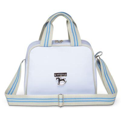 Imagem 2 do produto Mala maternidade + Bolsa + Frasqueira para bebe Clean Collection Azul - Masterbag