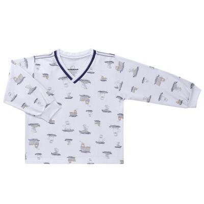 Imagem 2 do produto Pijama longo em moletinho Wally - Dedeka - DDK16638/E112 Pijama Moletinho Morsa-3