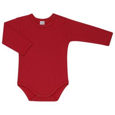 Imagem 3 do produto Kit 2 Bodies longos para bebe Red Anchor - Vicky Lipe - LTPBML07 PACK 2 BODIES ML LISTRA ÂNCORA/VERMELHO-M