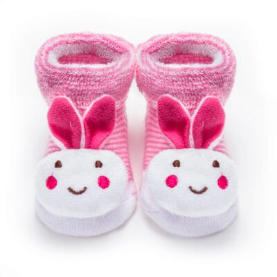 Imagem 1 do produto Pantufa para bebe Coelhinha Becky - Panda Care