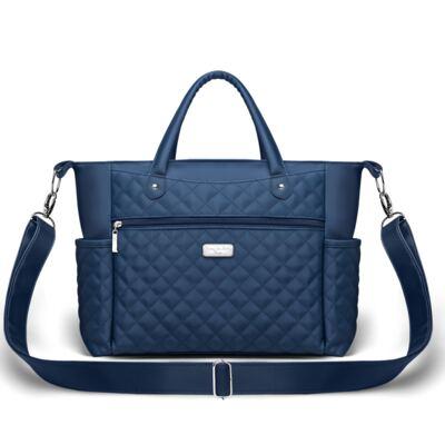 Imagem 1 do produto Bolsa Paris Silver Marinho - Classic for Baby Bags