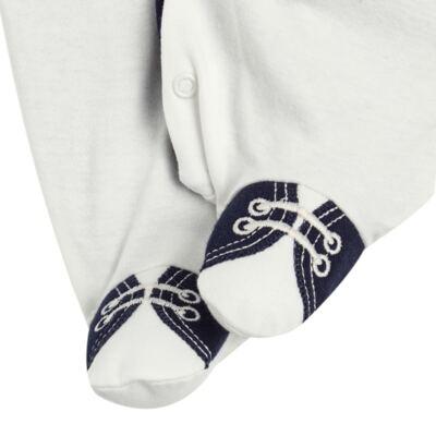 Imagem 5 do produto Jogo Maternidade: Macacão Casaco + 2 Gravatas Borboleta + Manta em suedine Lord - Anjos Baby - AB163653M KIT MACACAO MANTA CHIC-P