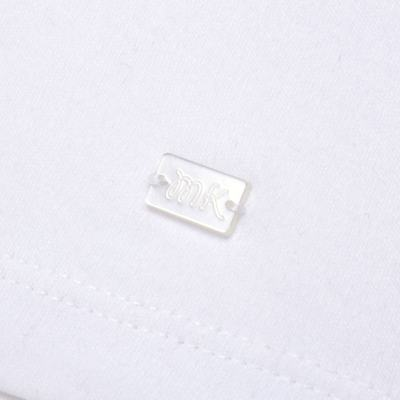 Imagem 3 do produto Macacão curto com golinha para bebe em algodão egípcio c/ jato de cerâmica e filtro solar fps 50 L'Hortensia - Mini & Kids - MCCG1746 MACACÃO M/C C/ GOLA SUEDINE HORTÊNCIAS-P