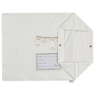 Imagem 4 do produto Kit 3 Saquinhos para maternidade Minhas Primeiras Roupinhas King - Anjos Baby