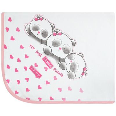Imagem 1 do produto Manta em suedine Ursa Panda - Vicky Lipe
