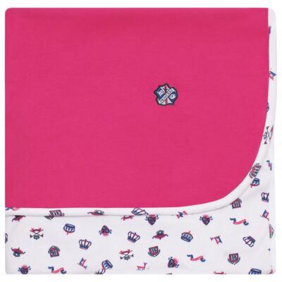 Imagem 1 do produto Manta em algodão egípcio c/ jato de cerâmica e filtro solar fps 50 Royal Princess - Mini & Kids