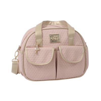 Imagem 4 do produto Mala maternidade para bebe + Bolsa + Frasqueira Térmica Nice Rosê - Just Baby