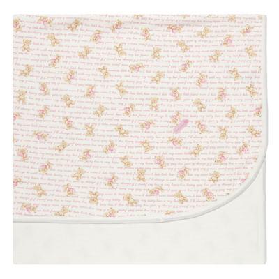 Imagem 1 do produto Manta para bebe em algodão egípcio c/ jato de cerâmica e filtro solar fps 50 Maternity Pink Bear - Mini & Kids