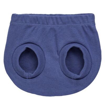 Imagem 3 do produto Pack Elefantinho: 02 Cobre Fraldas para bebe em high comfort - Vicky Baby - 1022-713 ELEF AZUL PK 2 COBRE BEBE SUED HIGH -PP