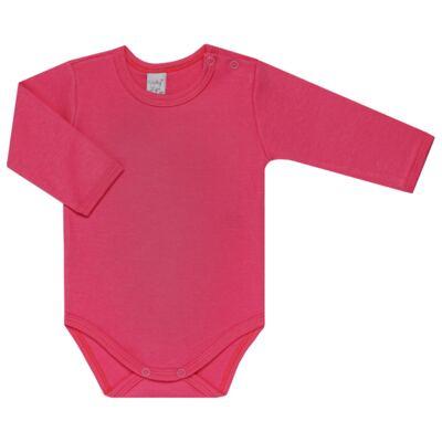 Imagem 3 do produto Kit 2 Bodies longos para bebe Pink Little Hearts - Vicky Lipe - LTPBML02 PACK 2 BODIES ML CORAÇÃO ROSA BB/PINK-M