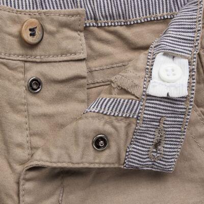 Imagem 3 do produto Calça para bebe em sarja c/ barra dobrável Khaki - Reserva Mini - RM23076 CALÇA BB CASUAL KHAKI-M