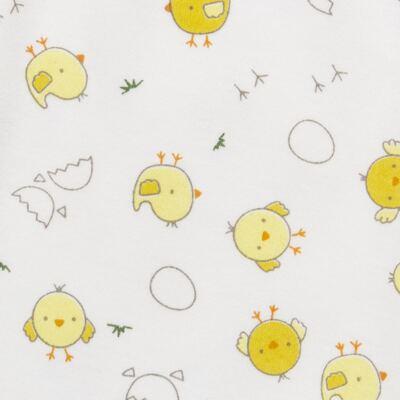 Imagem 5 do produto Pijama longo para bebe em suedine Piu Piu - Anjos Baby - AB1759006.004 PIJAMA BABY SUEDINE FEM PIU PIU T06-RN