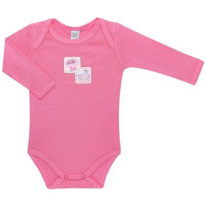 Imagem 4 do produto Pack 2 Bodies longos para bebe em high comfort Cute Whale - Vicky Lipe - 20471334 PACK BODY ML MALHA BALEIA-M