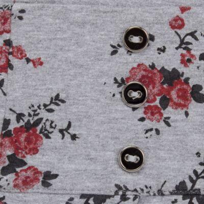 Imagem 2 do produto Saia pregueada em viscomfort Fleurs - Missfloor - 51PD0001.372 SAIA PREGUEADA - VISCOMFORT-1