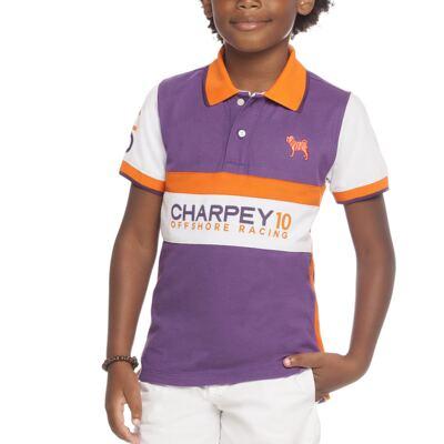Imagem 2 do produto Camiseta Polo em piquet Racing - Charpey