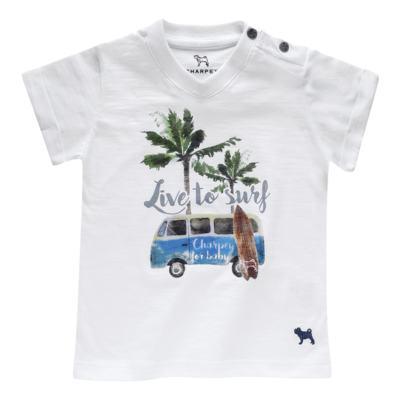 Imagem 1 do produto Camiseta em malha Live to Surf - Charpey