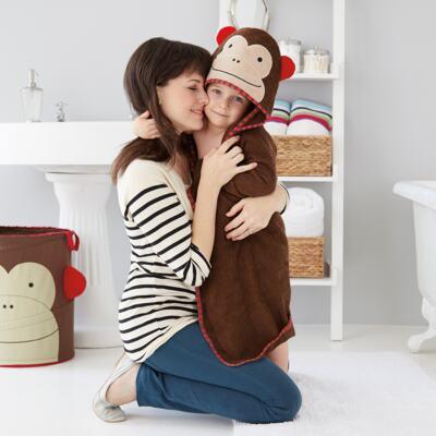 Imagem 2 do produto Toalha de banho Zoo Macaco - Skip Hop