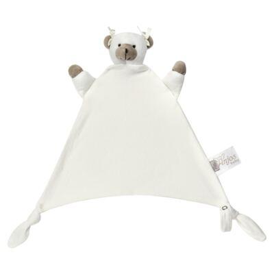 Imagem 2 do produto Naninha Chocalho em malha Ursinha - Anjos Baby