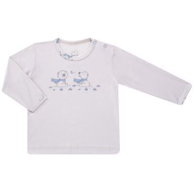 Imagem 2 do produto Pijama longo para bebe em suedine Smart Bear - Dedeka - DDK16563/E110 Pijama Suedine Urso Azul-P