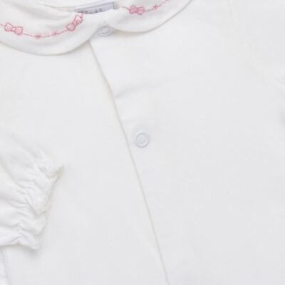 Imagem 7 do produto Jogo Maternidade para bebê: Body longo + Calça + Vestido + Manta em tricot Annie - Beth Bebê