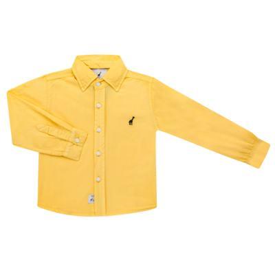 Imagem 1 do produto Camisa para bebe em tricoline Amarela - Toffee