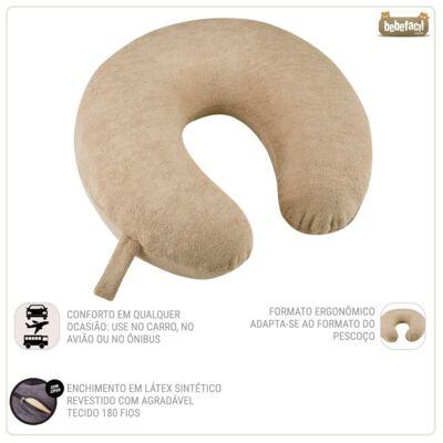Imagem 4 do produto Travesseiro para Viagem My Travel  Café - Fibrasca
