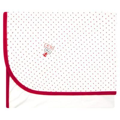 Imagem 2 do produto Manta forrada em malha com Naninha para bebê Ma Petite Marin - Classic for Baby