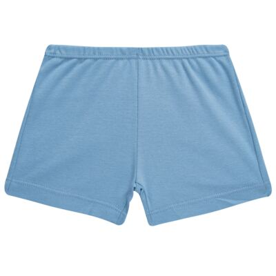 Imagem 4 do produto Pijama curto para bebe em suedine Dino - Dedeka - DDK17123/L44 Pijama Ribana Azul Sereno-G