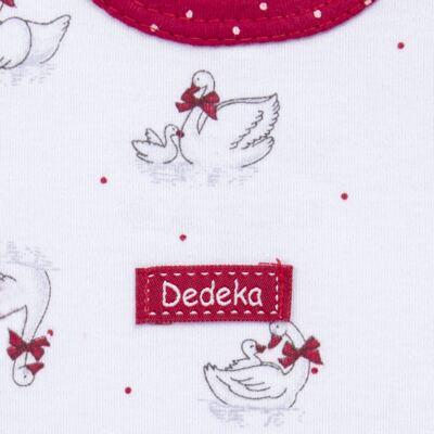 Imagem 3 do produto Kit Maternidade para bebe Noblesse: Body longo + Calça (mijão) + Naninha em suedine - Dedeka - DDK16062 Kit Body Longo com Calça e Naninha Noblesse-P
