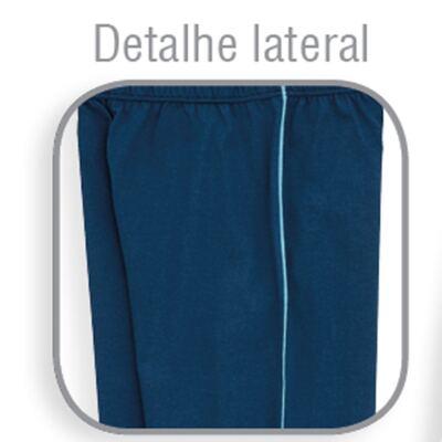 Imagem 3 do produto Pijama longo para bebe em suedine Little Fish - Dedeka - DDK18204/L08 PIJAMA MEIA MARINHO -2
