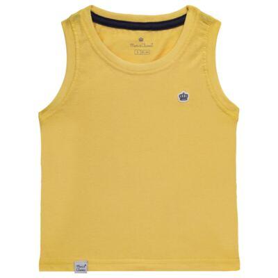 Imagem 1 do produto Regata em malha Amarela - Mini & Classic - 9501672 REGATA MALHA AMARELA-2