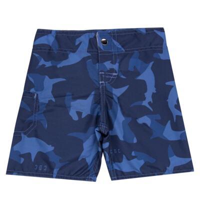 Imagem 4 do produto Camiseta com Bermuda em tactel Shark - Cara de Criança - KIT 1 2311 CCA+BT TUBARAO-4