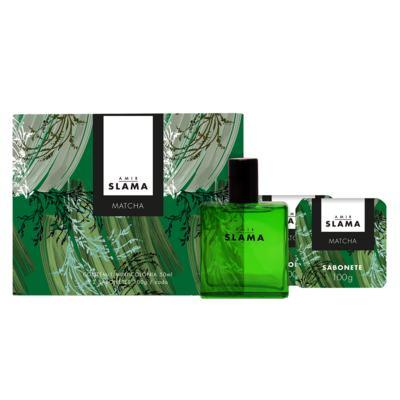 Imagem 2 do produto Kit Duo Amir Matcha Granado - Colônia + 2 Sabonetes em Barra - Kit