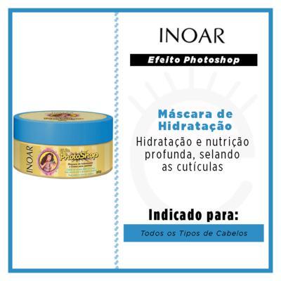 Imagem 2 do produto Inoar Efeito Photoshop Máscara de Hidratação - 250g
