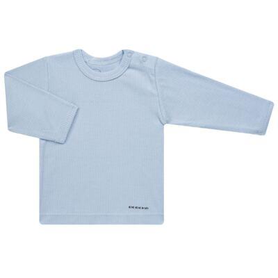 Imagem 2 do produto Pijama longo para bebe canelado Azul - Dedeka - DDK0840/25 Conjunto Canelado Azul-M