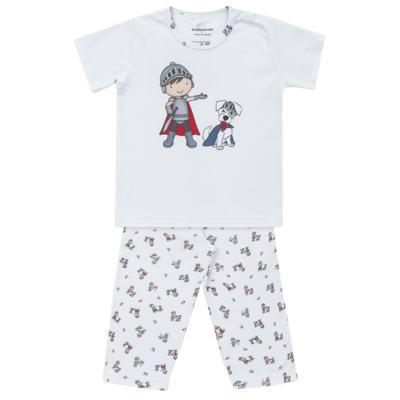 Imagem 1 do produto Pijama longo em suedine Chevalier - Dedeka - DDK16203 Pijama Suedine Longo Chevalier-3